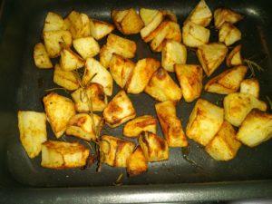 Patate al forno.