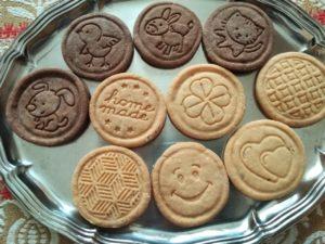 Biscotti stampati ai 4 sapori
