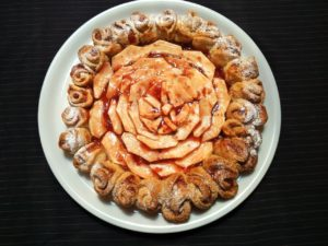 Crostata con roselline