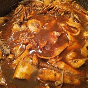 Zuppa di pesce a modo mio