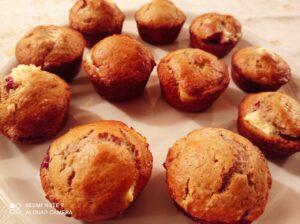 Muffin al lampone
