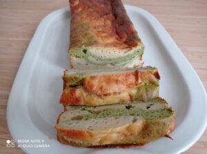 Plum cake salato ai cavolfiori e broccoli