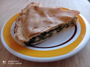 Spanakopita : torta di verdura greca